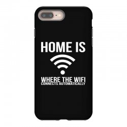 home is where the wifi connects teenager funny iPhone 8 Plus Case | Artistshot