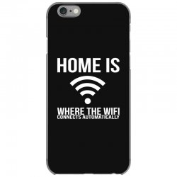 home is where the wifi connects teenager funny iPhone 6/6s Case | Artistshot