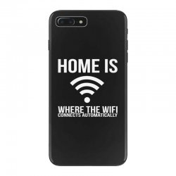 home is where the wifi connects teenager funny iPhone 7 Plus Case | Artistshot