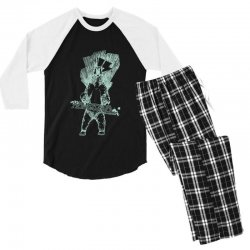 homeschool snowboarding Men's 3/4 Sleeve Pajama Set | Artistshot