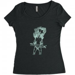 homeschool snowboarding Women's Triblend Scoop T-shirt | Artistshot