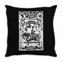 honor above all Throw Pillow | Artistshot