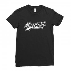 hoop kid script Ladies Fitted T-Shirt | Artistshot