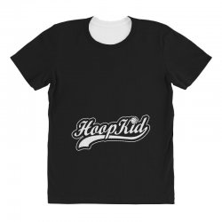 hoop kid script All Over Women's T-shirt | Artistshot