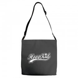 hoop kid script Adjustable Strap Totes | Artistshot