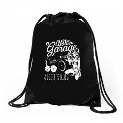hot rod Drawstring Bags | Artistshot