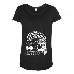 hot rod Maternity Scoop Neck T-shirt | Artistshot