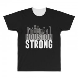 houston strong texas city skyline All Over Men's T-shirt | Artistshot