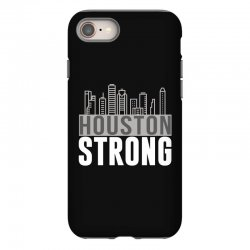 houston strong texas city skyline iPhone 8 Case | Artistshot