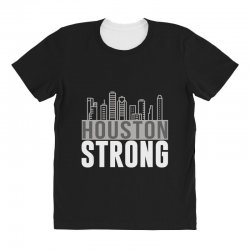 houston strong texas city skyline All Over Women's T-shirt | Artistshot