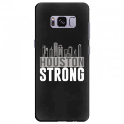 houston strong texas city skyline Samsung Galaxy S8 Plus Case | Artistshot