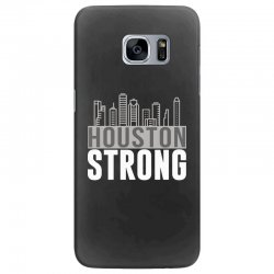 houston strong texas city skyline Samsung Galaxy S7 Edge Case | Artistshot