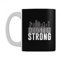 houston strong texas city skyline Mug | Artistshot