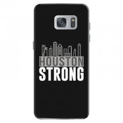houston strong texas city skyline Samsung Galaxy S7 Case | Artistshot