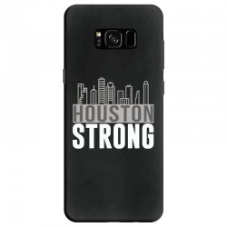 houston strong texas city skyline Samsung Galaxy S8 Case | Artistshot