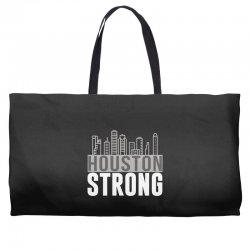 houston strong texas city skyline Weekender Totes | Artistshot