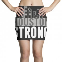 houston strong texas city skyline Mini Skirts | Artistshot