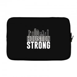 houston strong texas city skyline Laptop sleeve | Artistshot