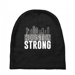 houston strong texas city skyline Baby Beanies | Artistshot