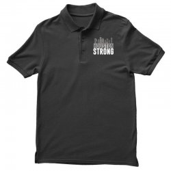 houston strong texas city skyline Polo Shirt | Artistshot