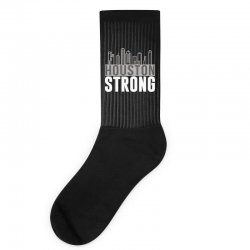 houston strong texas city skyline Socks | Artistshot