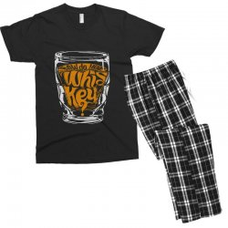 how do you whiskey Men's T-shirt Pajama Set | Artistshot