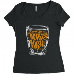 how do you whiskey Women's Triblend Scoop T-shirt | Artistshot