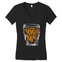 how do you whiskey Women's V-Neck T-Shirt | Artistshot