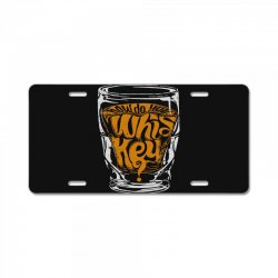 how do you whiskey License Plate | Artistshot
