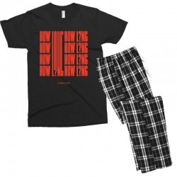 how long charlie puth Men's T-shirt Pajama Set | Artistshot
