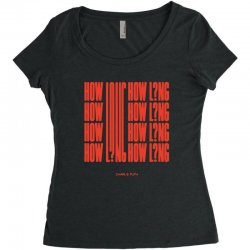 how long charlie puth Women's Triblend Scoop T-shirt | Artistshot
