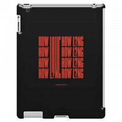 how long charlie puth iPad 3 and 4 Case | Artistshot