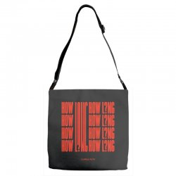 how long charlie puth Adjustable Strap Totes | Artistshot
