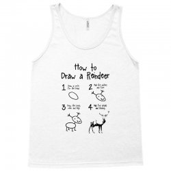 how to draw a reindeer Tank Top | Artistshot