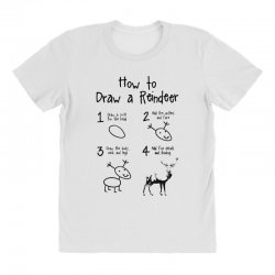 how to draw a reindeer All Over Women's T-shirt | Artistshot