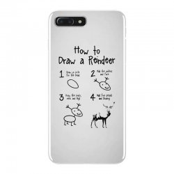 how to draw a reindeer iPhone 7 Plus Case | Artistshot