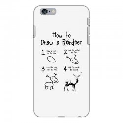 how to draw a reindeer iPhone 6 Plus/6s Plus Case | Artistshot