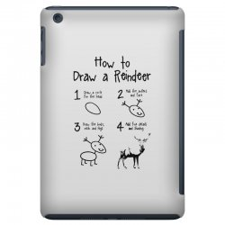 how to draw a reindeer iPad Mini Case | Artistshot