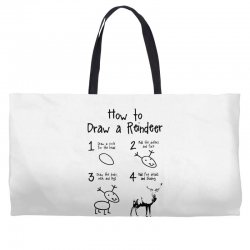 how to draw a reindeer Weekender Totes | Artistshot