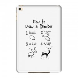 how to draw a reindeer iPad Mini 4 Case | Artistshot