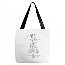 hula girl t shirt hula girl shirt tiki bar t shirt tiki graphic tee Tote Bags | Artistshot