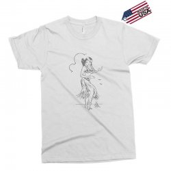 hula girl t shirt hula girl shirt tiki bar t shirt tiki graphic tee Exclusive T-shirt | Artistshot