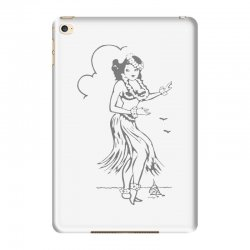 hula girl t shirt hula girl shirt tiki bar t shirt tiki graphic tee iPad Mini 4 Case | Artistshot