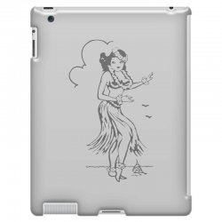 hula girl t shirt hula girl shirt tiki bar t shirt tiki graphic tee iPad 3 and 4 Case | Artistshot