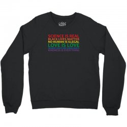 human rights and world truths Crewneck Sweatshirt | Artistshot