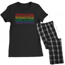 human rights and world truths Women's Pajamas Set | Artistshot