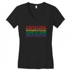 human rights and world truths Women's V-Neck T-Shirt | Artistshot