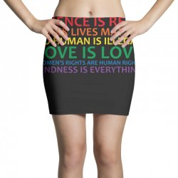 human rights and world truths Mini Skirts | Artistshot