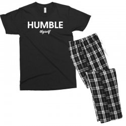 humble thyself Men's T-shirt Pajama Set | Artistshot