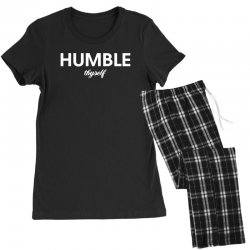 humble thyself Women's Pajamas Set | Artistshot